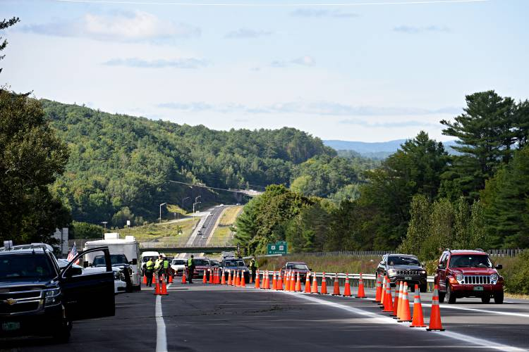 Valley News - Border Patrol checkpoint on Interstate 89 in ...