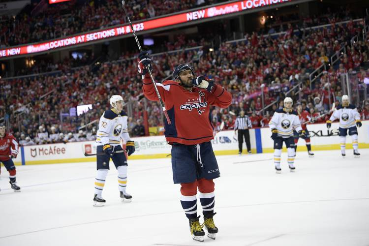 Valley News Nhl Roundup Ovechkin Caps Stay Hot