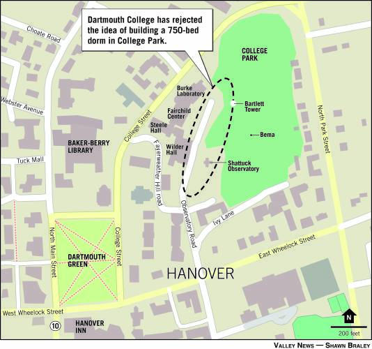 Valley News - Hanlon Says Dartmouth Won't Build Large Dorm at ... on