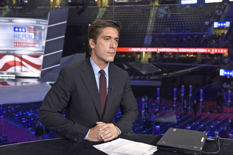 Valley News - ABC News Anchor David Muir Revels in Reporting Assignments