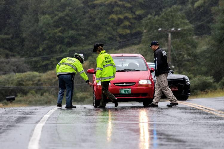 Valley News - Officials: Car Struck, Hospitalized Pedestrian