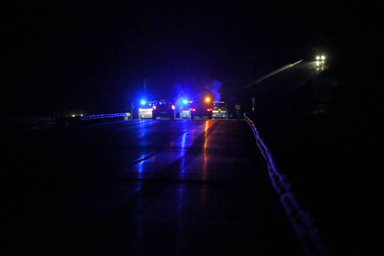 Valley News - Two Dead After Wrong-Way Driver Causes 3